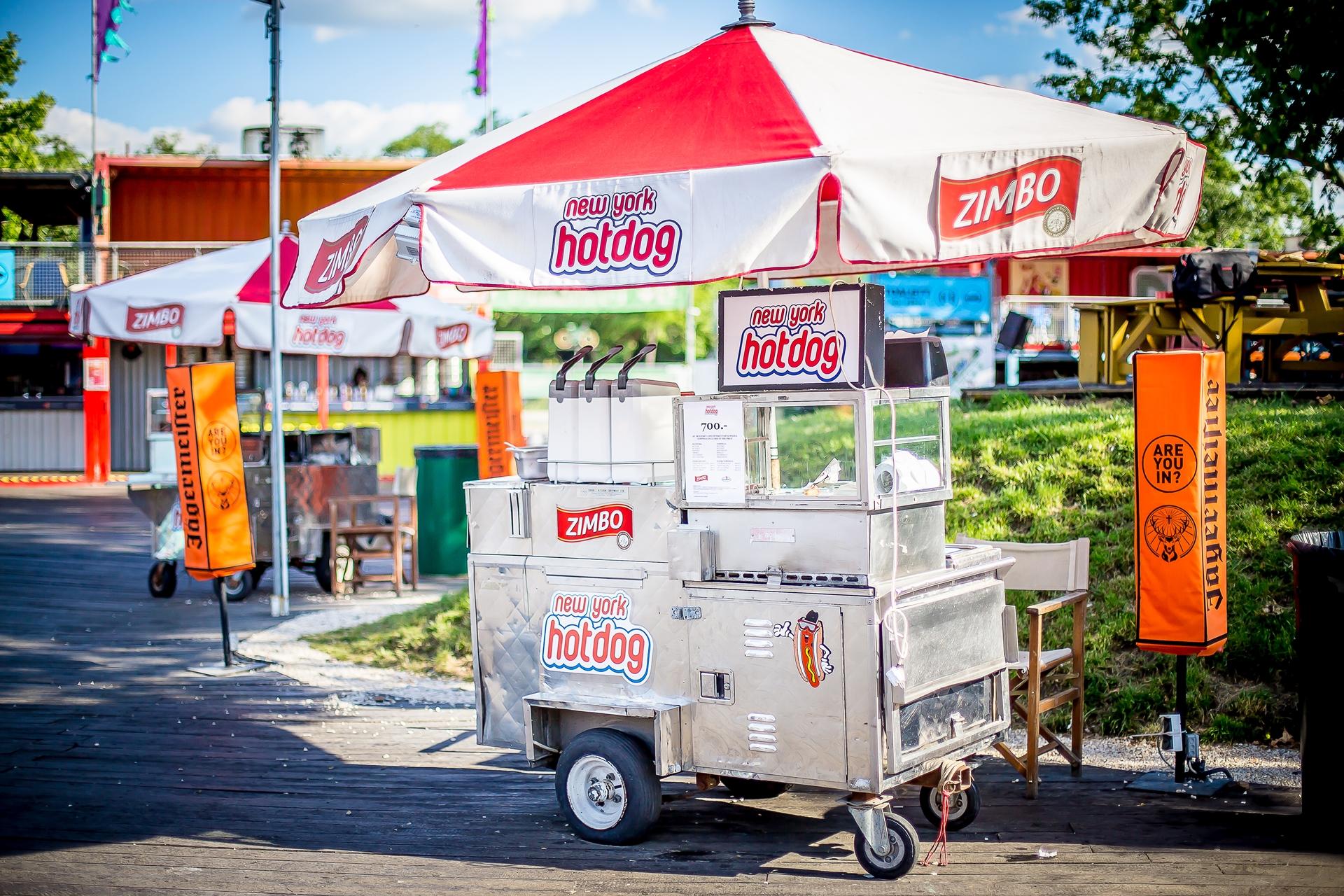 amerikai hot dog kocsi bérlés