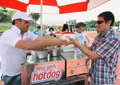 NewYork Hotdog készítés