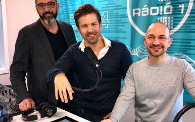New York hot dog a Radio 1 műsorában